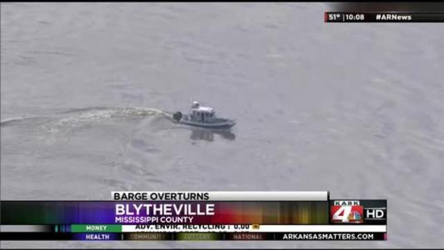 Update: Search Goes on for 2 Men Missing after Barge Accident