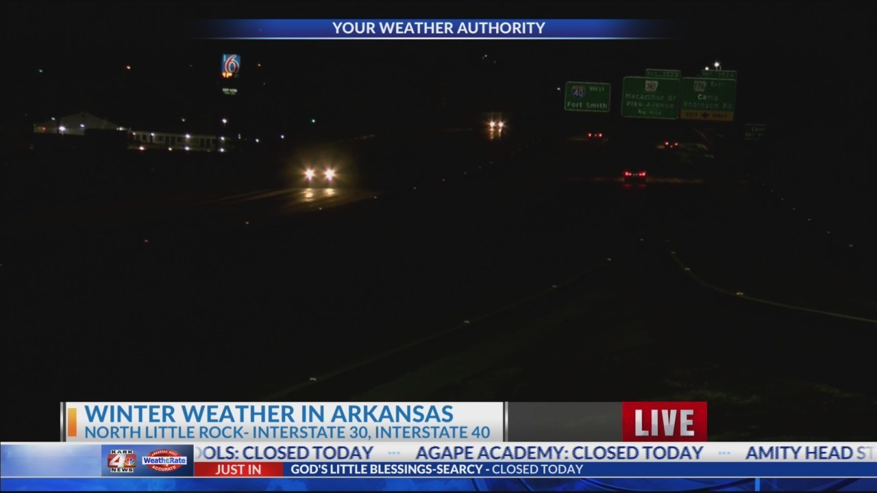 NLR Road Conditions Tuesday AM