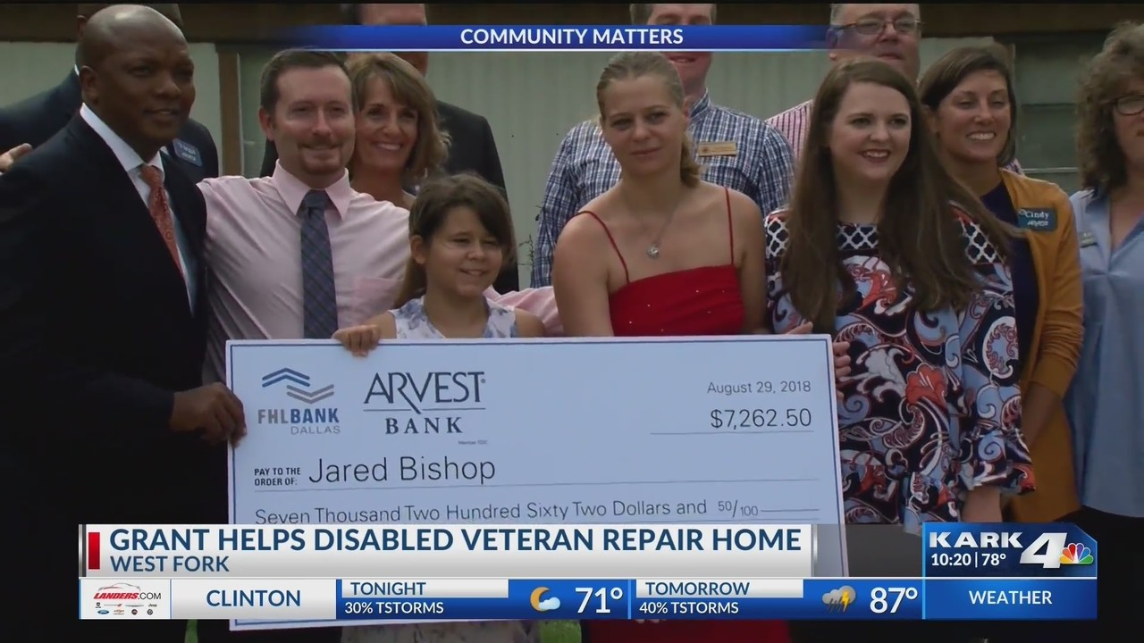 Grant Helps Local Disabled Veteran With Home Repairs