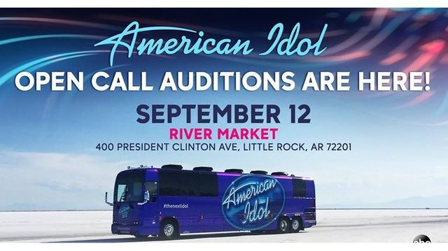 American Idol Open Call Auditions in LR Sept. 12