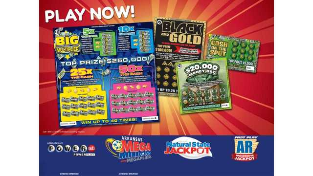 Arkansas Scholarship Lottery Launches Four New Scratch-Off Games