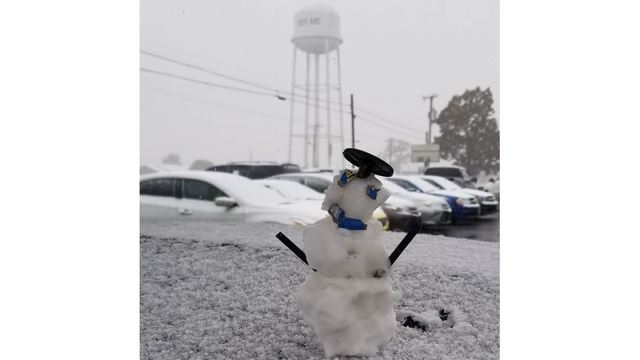 Snow Man at D3 auto sales in Des Arc! by Randy Pickrell 2_1542225898263.JPG.jpg