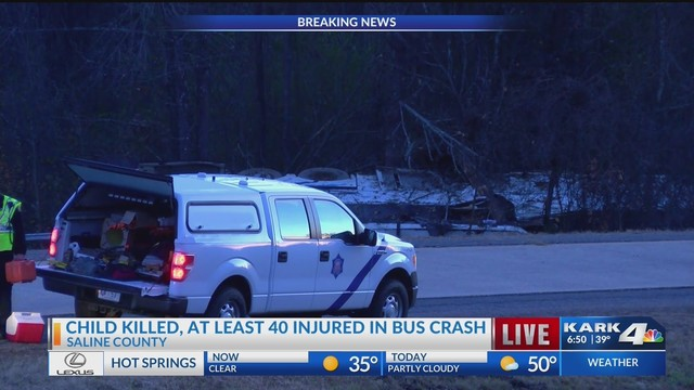 One Dead, 45 Injured After Bus Carrying Youth Football Team