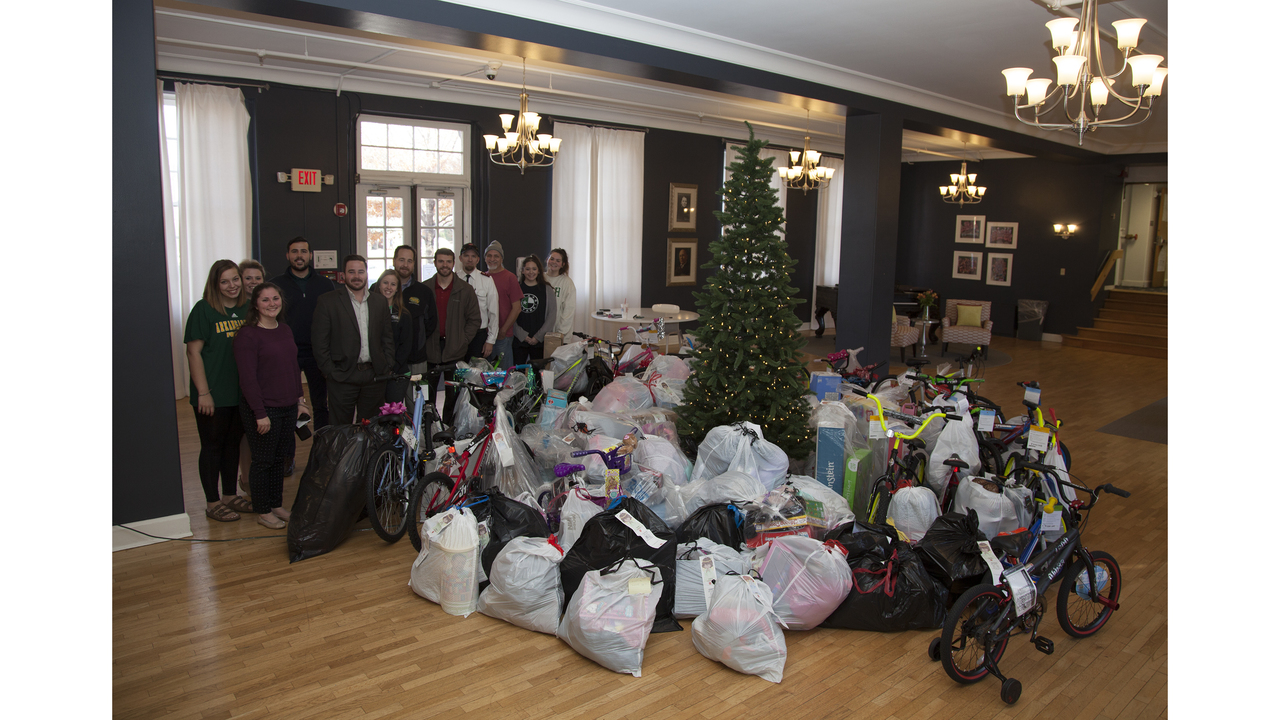 ATU Students Come Through for Local Salvation Army Angel Tree