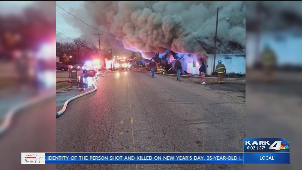 Longtime Drew County Business Owner Cleans Up After Major Fire