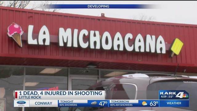 Update: Victim ID'd in Deadly LR Ice Cream Shop Shooting