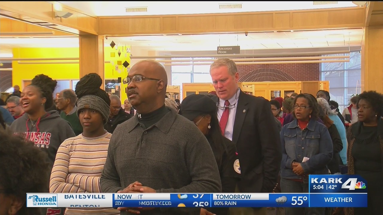 Governor Celebrates Martin Luther King Jr. Day in Conway