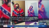 HS student suspended after refusing to remove Confederate Flag shirt