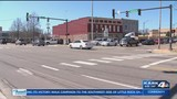Traffic light upgrades in Downtown Russellville