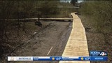 New walkway built for Russellville homeless camp thanks to volunteers