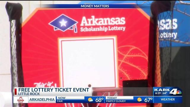 Powerball tickets giveaway Wednesday in downtown Little Rock