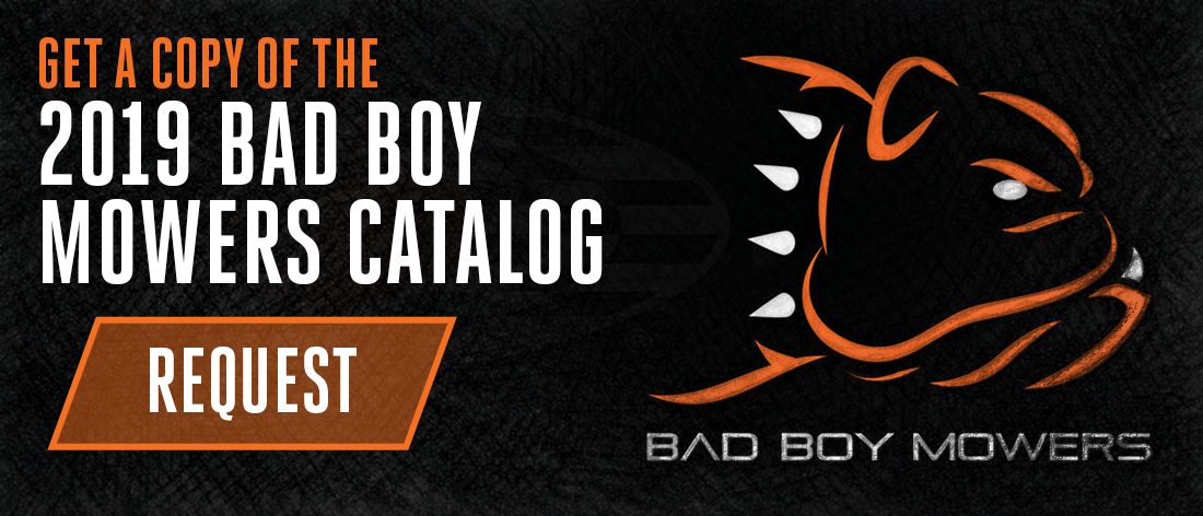 Get A Copy Of The 2018 Bad Boy Mowers Catalog