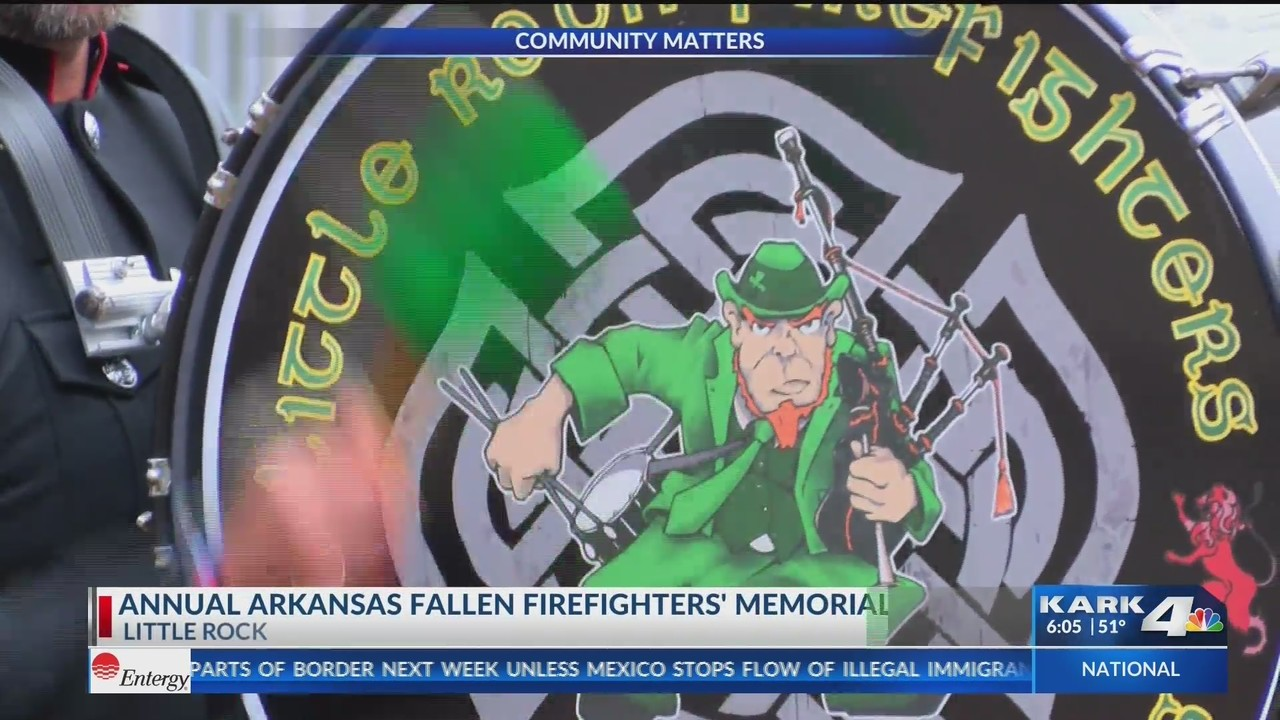 Firefighters Marching At Capitol >> Five Ar Firefighters Killed By Cancer Honored Saturday