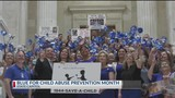 Child Abuse Prevention Month rally in Little Rock
