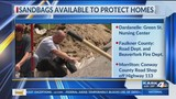 Free sandbags offered to those living in flood zones