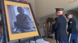 Digital Original: Military members & veterans attend 5-year-old's funeral who died from rare cancer