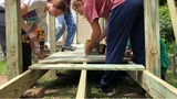 Digital Original: Teens build wheelchair ramp for 90-year-old woman as a way of giving back